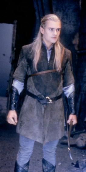 Orlando as Legolas Greenleaf